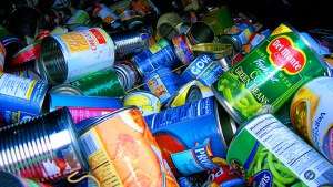 Canned goods can contain traces of BPA.