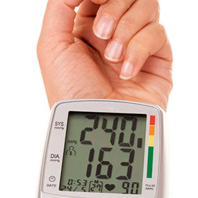 what is the correct reading for high blood pressure